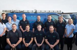 Team shot - John Williams Heating Services