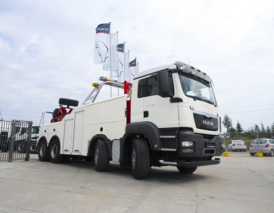 Heavy MAN recovery trucks for Sochi   The Business Exchange